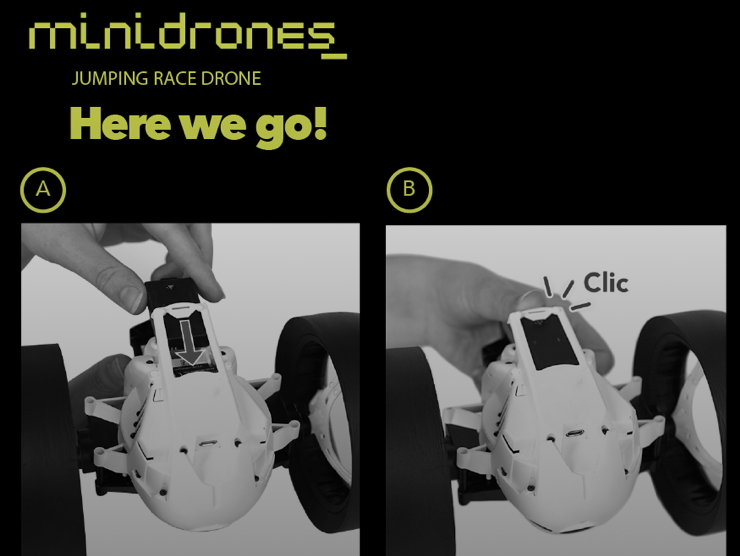 MiniDrones UI | Locked